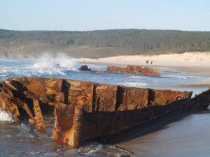 fotos de un naufragio