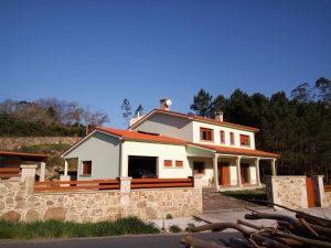 fotos vista de casa de turismo rural