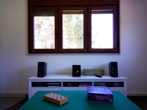 faqs equipo de sonido del salón en planta superior